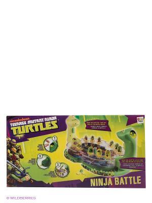 Игра Кто самый ловкий Черепашки Ниндзя IMC toys. Цвет: зеленый