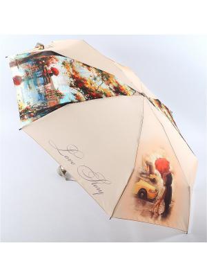 Зонт Zest. Цвет: персиковый, темно-бежевый