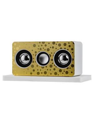 Громкоговоритель для усиления звука на смартфоне NAVELL. Цвет: золотистый, белый