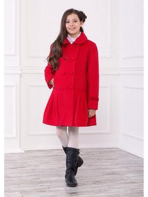 Пальто Baby Steen. Цвет: красный