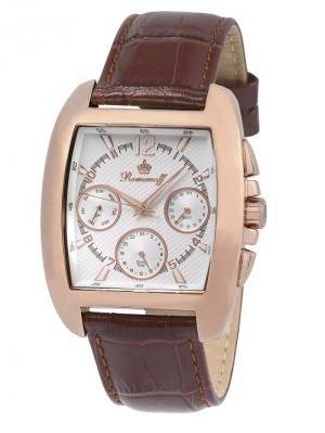 Часы Romanoff. Цвет: коричневый, золотистый