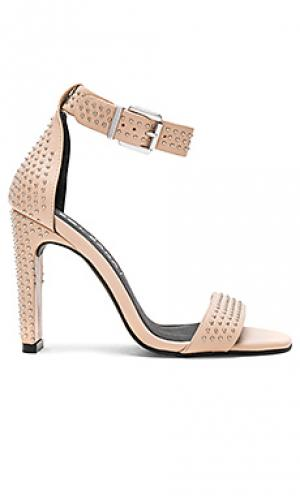 Туфли на каблуке page Sol Sana. Цвет: беж