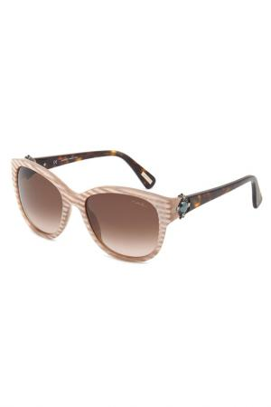 Солнцезащитные очки Lanvin. Цвет: бежевый