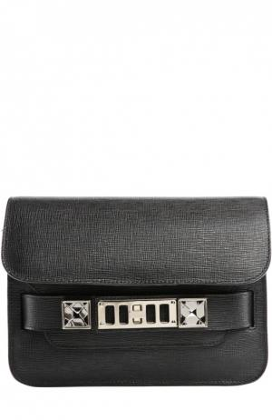 Сумка PS11 Mini Classic Proenza Schouler. Цвет: черный
