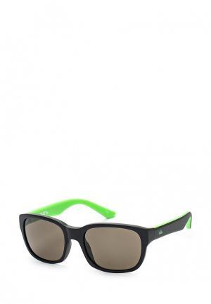 Очки солнцезащитные Quiksilver. Цвет: черный