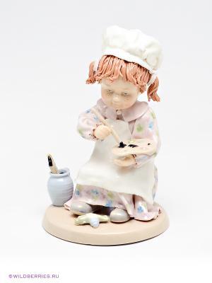 Фигурка Юный художник Pavone. Цвет: бледно-розовый, белый, бежевый