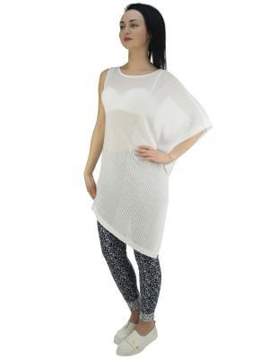 Блузка OROBLU. Цвет: белый
