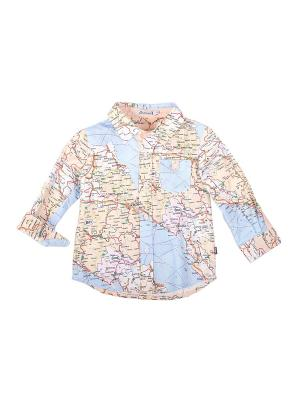 Рубашка Gulliver Baby. Цвет: желтый