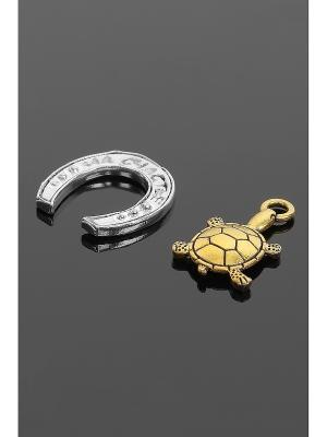Оберег для кошелька (Подкова, черепаха) Migura. Цвет: серебристый, золотистый