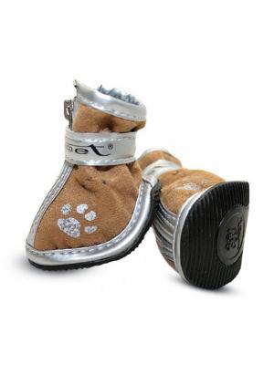 Ботинки для собак TRIOL. Цвет: светло-коричневый