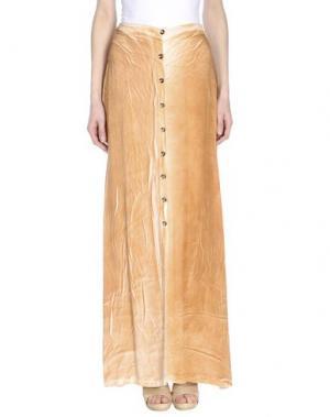 Длинная юбка MONICA •LENDINEZ. Цвет: верблюжий