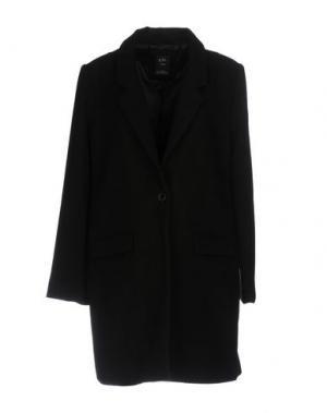 Пальто YES ZEE by ESSENZA. Цвет: черный