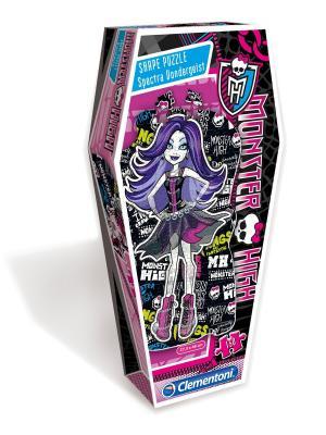 Clementoni. Monster High.Пазл. Фигурный.150эл.27538 Эбби Боминейбл Clementoni. Цвет: фиолетовый, розовый, черный, синий