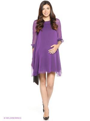 Платье One plus. Цвет: фиолетовый