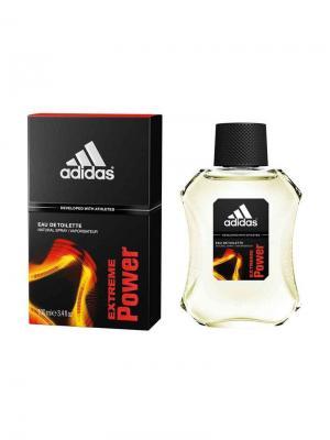 Extreme Power edt 100 ml Adidas. Цвет: оранжевый, черный