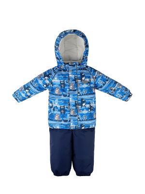 Комплект детский (куртка+полукомбинезон) REIKE. Цвет: голубой