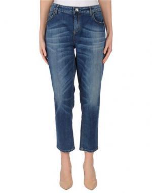 Джинсовые брюки SEVENTY SERGIO TEGON. Цвет: синий