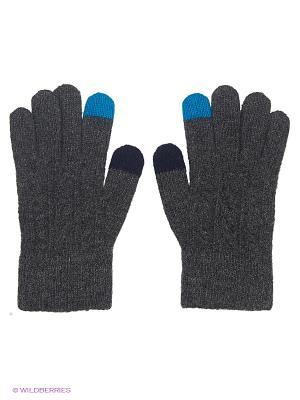 Перчатки Maxval. Цвет: темно-серый, голубой