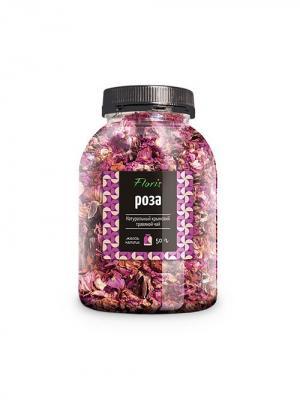 Floris Натуральный крымский чай Роза, банка ПЭТ, 50г. Цвет: прозрачный