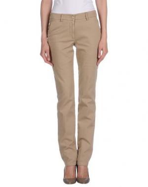 Повседневные брюки ALTEA dal 1973. Цвет: песочный
