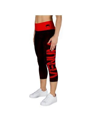 Капри Venum Power - Black/Red. Цвет: черный, красный
