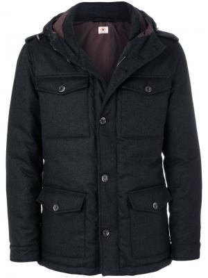Куртка с карманами Borrelli. Цвет: серый
