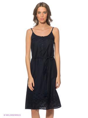 Платье LERROS. Цвет: темно-синий