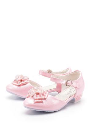 Туфли BI&KI. Цвет: розовый