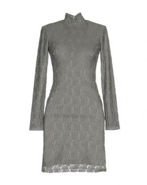 Короткое платье DRY LAKE.. Цвет: светло-серый