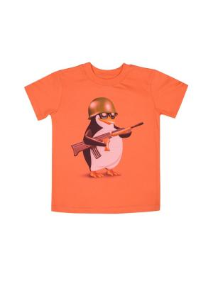 Фуфайка WOW. Цвет: оранжевый