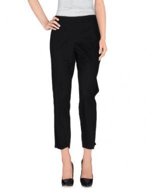 Повседневные брюки SEKLI. Цвет: черный