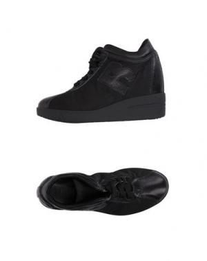 Высокие кеды и кроссовки RUCO LINE. Цвет: черный
