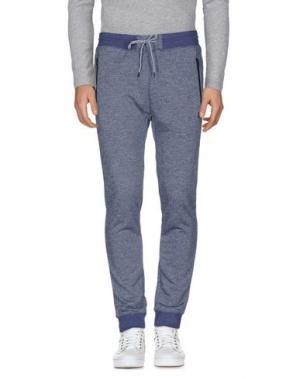 Повседневные брюки HURLEY. Цвет: темно-синий