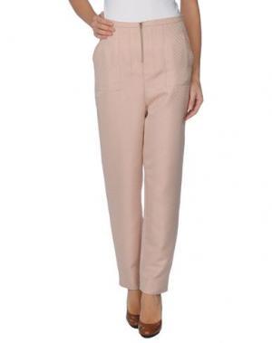 Повседневные брюки AILANTO. Цвет: светло-розовый
