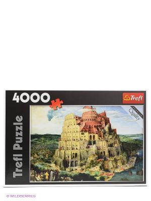 Вавилонская башня Trefl. Цвет: светло-коричневый
