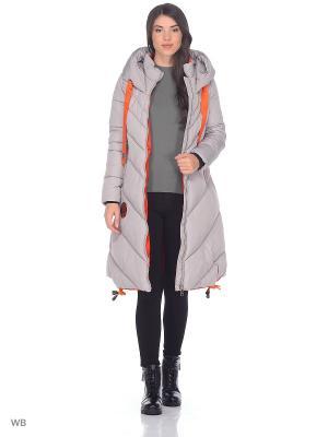 Пальто OSTRICH. Цвет: серый