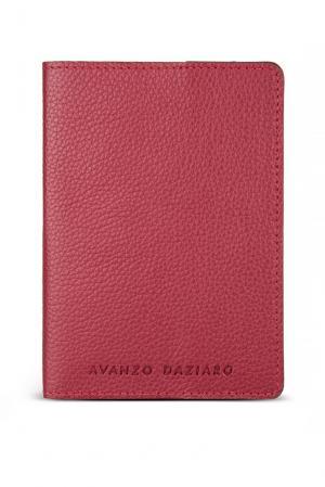 Обложка для паспорта GA-188075 Avanzo Daziaro. Цвет: красный