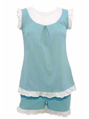 Пижама РОССИЙСКИЙ ТРИКОТАЖ. Цвет: серо-голубой, серо-зеленый