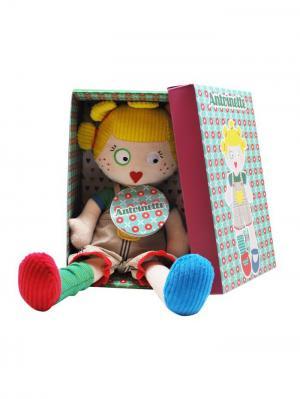 Кукла Deglingos Mistinguette Antoinette. Цвет: желтый