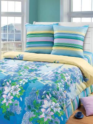 Постельное белье Арт Постель. Цвет: синий, голубой, сиреневый, желтый