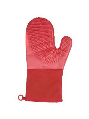Прихватка силиконовая OXO красная 1147705. Цвет: красный