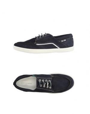 Обувь на шнурках GUARDIANI DRIVE. Цвет: темно-синий