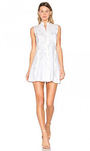 Платье tonya Marissa Webb. Цвет: белый