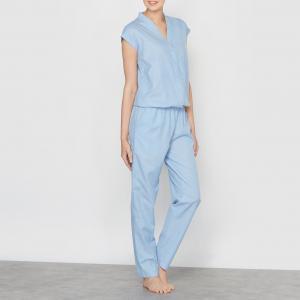 Комбинезон-пижама La Redoute Collections. Цвет: светло-синий джинсовый