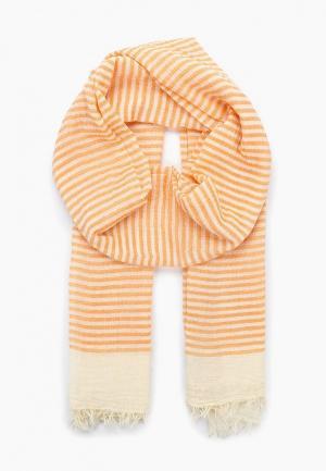 Палантин Moltini. Цвет: оранжевый