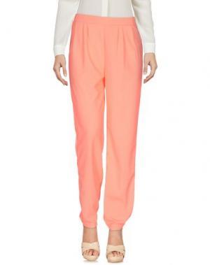 Повседневные брюки ANONYME DESIGNERS. Цвет: розовый