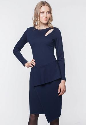Платье EMI. Цвет: синий