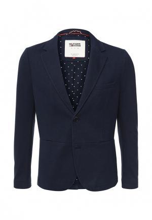 Пиджак Tommy Hilfiger Denim. Цвет: синий