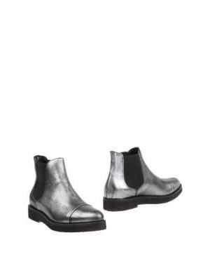 Полусапоги и высокие ботинки LILIMILL. Цвет: серый
