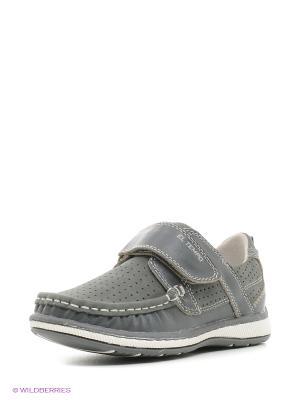 Ботинки El Tempo. Цвет: серый